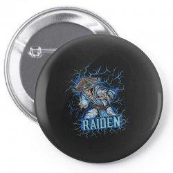 raiden Pin-back button | Artistshot