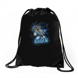 raiden Drawstring Bags | Artistshot