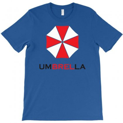Resident Evil Logo Umbrella Corporation Zombie Videogames T-shirt Designed By Syarip