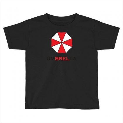 Resident Evil Logo Umbrella Corporation Zombie Videogames Toddler T-shirt Designed By Syarip