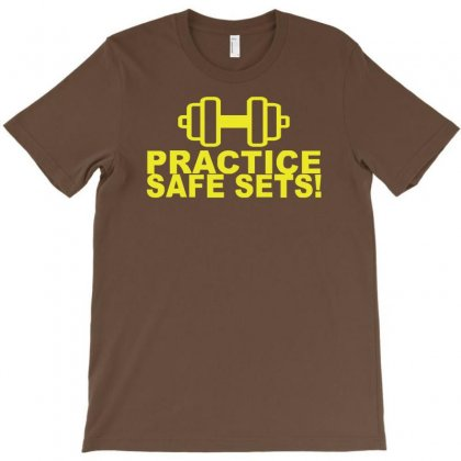 Safe Sex Train Gym Workout Funny Gift T-shirt Designed By Syarip