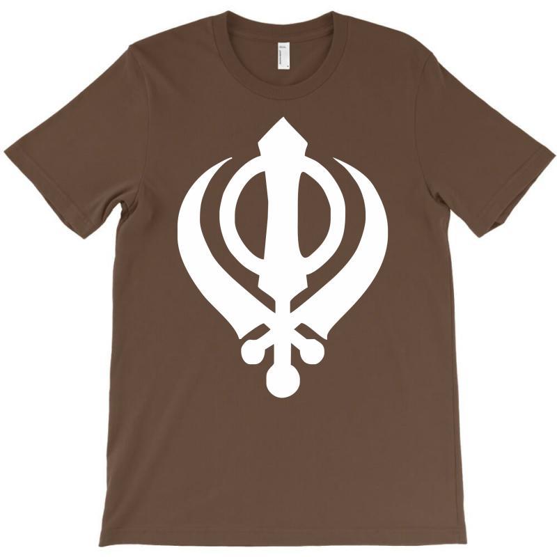 Custom Sikh Khanda Symbol India Punjabi Sikhism Culture Tee New T