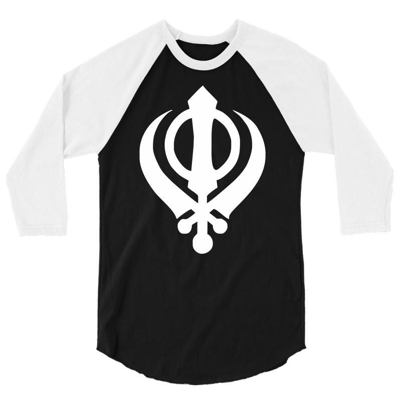 Custom Sikh Khanda Symbol India Punjabi Sikhism Culture Tee New 34