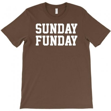 Sunday Funday Party Funny Tee T-shirt Designed By Syarip