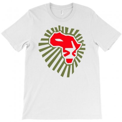 Africa Lion Power Cool T-shirt Designed By Syarip