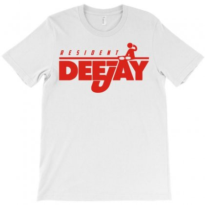 Resident Dj T-shirt Designed By Denz