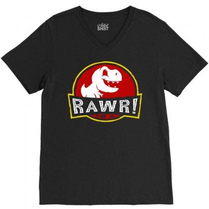 Rawr! V-neck Tee Designed By Fandysr88