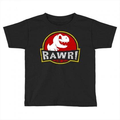 Rawr! Toddler T-shirt Designed By Fandysr88