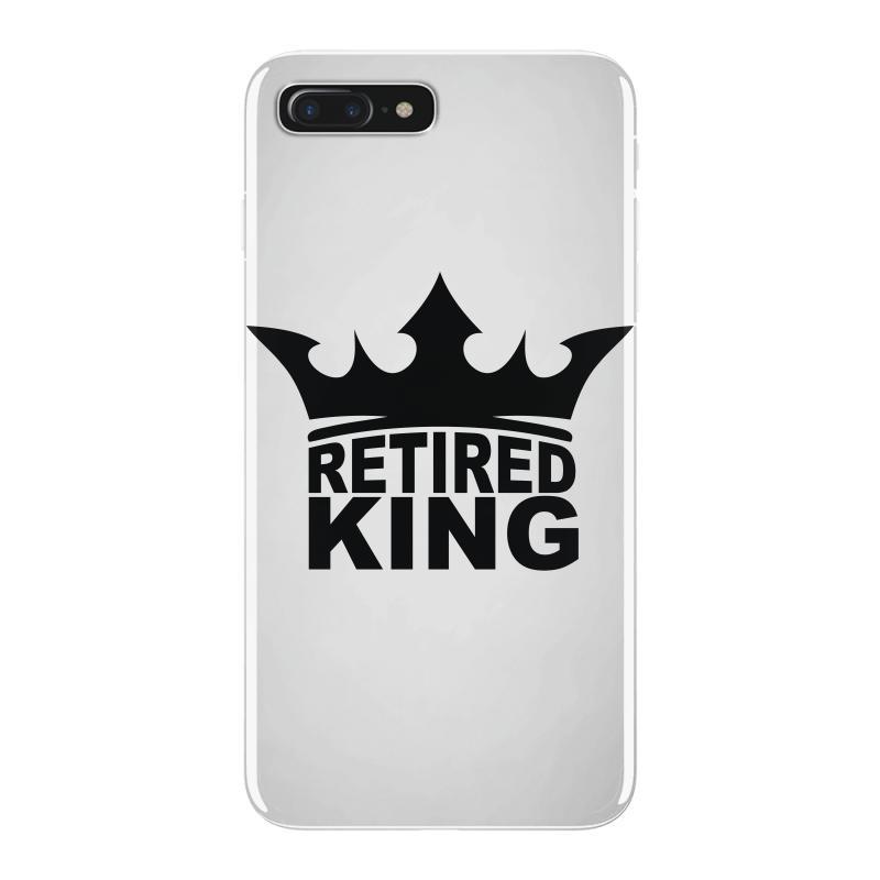 77b8e12df Custom Retired King Iphone 7 Plus Case By Denz - Artistshot