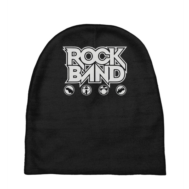 Custom Rock Band Baby Beanies By Denz - Artistshot 47768f75127