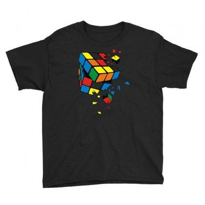 Rubik's Cube Cassé Sheldon Cooper Youth Tee