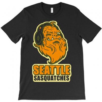 Seattle Sasquatches T-shirt Designed By Fandysr88