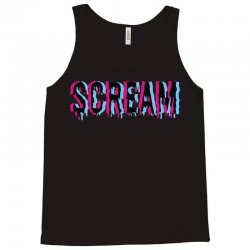 scream 3d Tank Top | Artistshot
