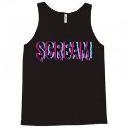 scream 3d Tank Top   Artistshot
