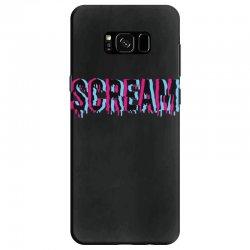 scream 3d Samsung Galaxy S8 Case | Artistshot