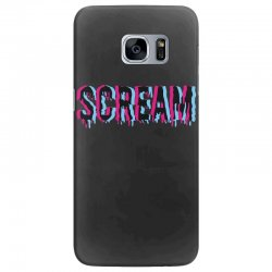 scream 3d Samsung Galaxy S7 Edge Case | Artistshot