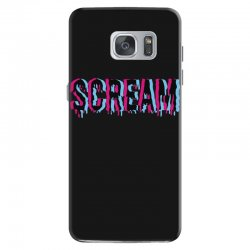 scream 3d Samsung Galaxy S7 Case | Artistshot