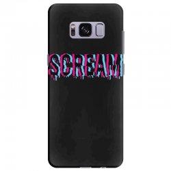 scream 3d Samsung Galaxy S8 Plus Case | Artistshot