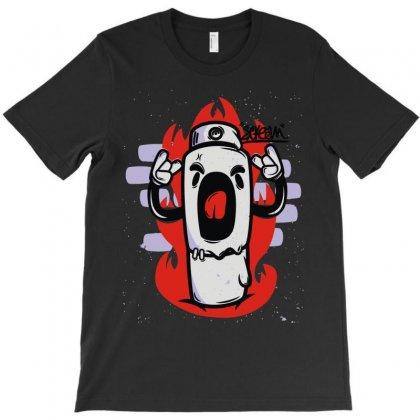 Scream (3) T-shirt Designed By Denz
