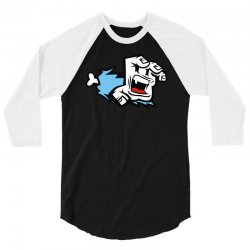 screaming paw 3/4 Sleeve Shirt | Artistshot