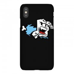 screaming paw iPhoneX Case | Artistshot