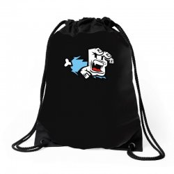 screaming paw Drawstring Bags | Artistshot
