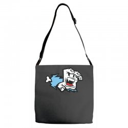 screaming paw Adjustable Strap Totes | Artistshot