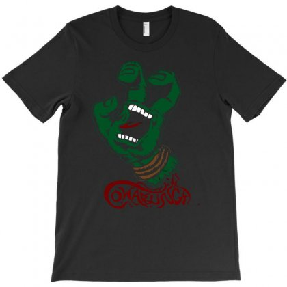 Screaming Mutant Hand T-shirt Designed By Denz