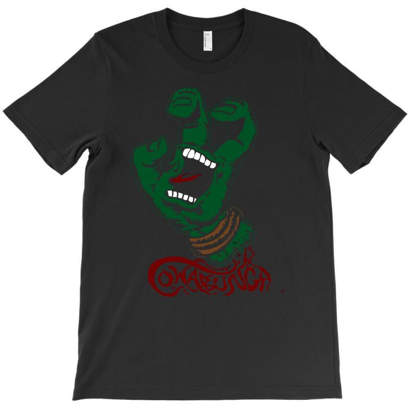 Screaming Mutant Hand T-shirt | Artistshot