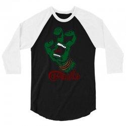 screaming mutant hand 3/4 Sleeve Shirt | Artistshot