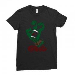 screaming mutant hand Ladies Fitted T-Shirt | Artistshot
