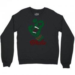 screaming mutant hand Crewneck Sweatshirt | Artistshot