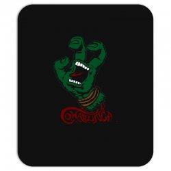 screaming mutant hand Mousepad | Artistshot