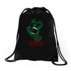 screaming mutant hand Drawstring Bags | Artistshot