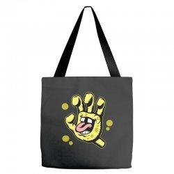 screaming sponge Tote Bags | Artistshot