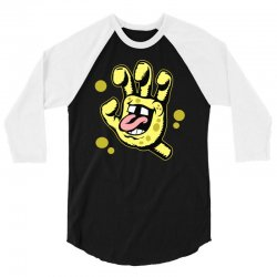 screaming sponge 3/4 Sleeve Shirt | Artistshot