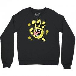 screaming sponge Crewneck Sweatshirt | Artistshot