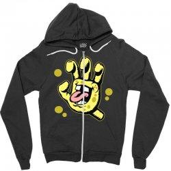 screaming sponge Zipper Hoodie | Artistshot