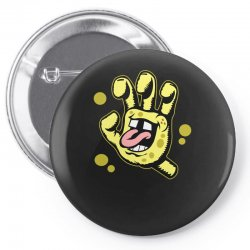 screaming sponge Pin-back button | Artistshot
