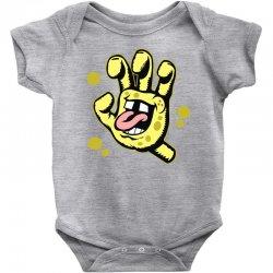 screaming sponge Baby Bodysuit | Artistshot