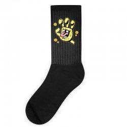 screaming sponge Socks | Artistshot