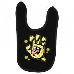 screaming sponge Baby Bibs | Artistshot