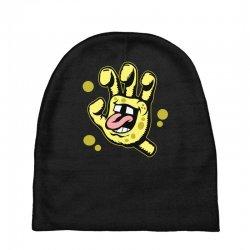 screaming sponge Baby Beanies | Artistshot