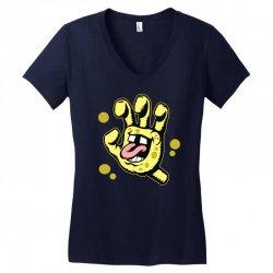 screaming sponge Women's V-Neck T-Shirt | Artistshot
