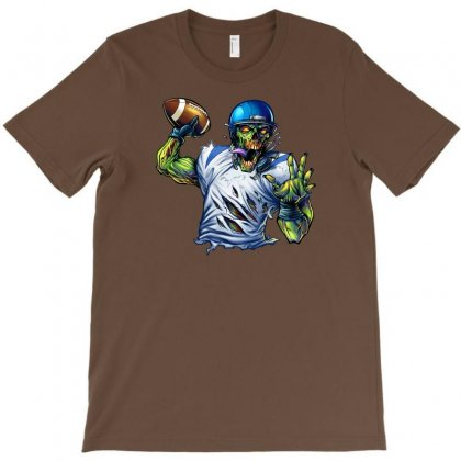 Sports Zombie T-shirt Designed By Daffdy