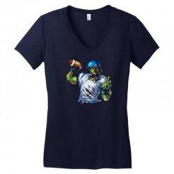SPORTS ZOMBIE Women's V-Neck T-Shirt | Artistshot