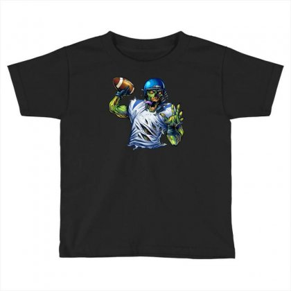 Sports Zombie Toddler T-shirt Designed By Daffdy