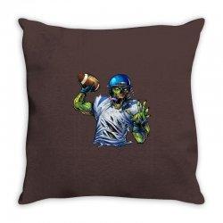 SPORTS ZOMBIE Throw Pillow | Artistshot
