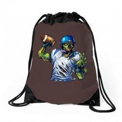 SPORTS ZOMBIE Drawstring Bags | Artistshot