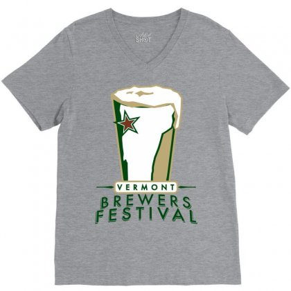 Brewers Festival V-neck Tee Designed By Ikankio